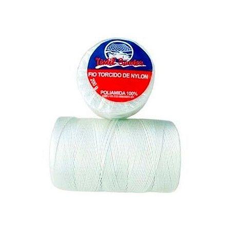 Fio Torcido de Nylon Têxtil Sauter 210/8 BCO PCT 200G