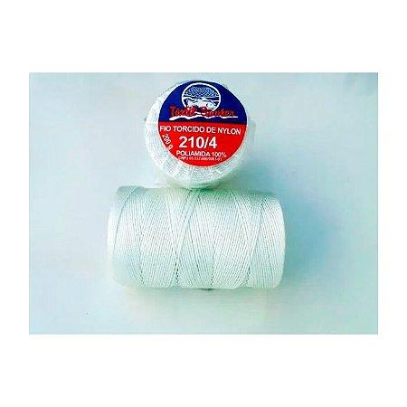 Fio Torcido de Nylon Têxtil Sauter 210/4 BCO PCT 200G