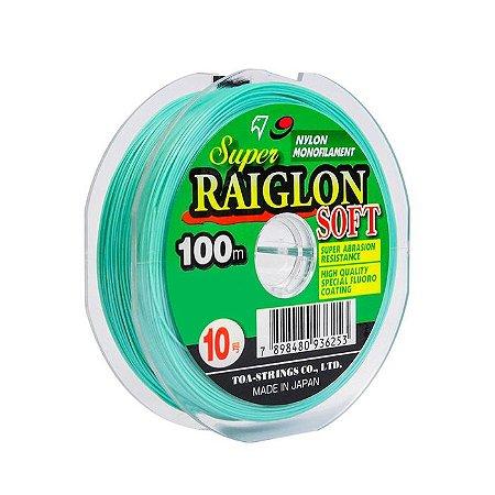 Linha Monofilamento Marine Sports Super Raiglon Soft 100M