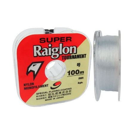 Linha Monofilamento Marine Sports Super Raiglon 100M