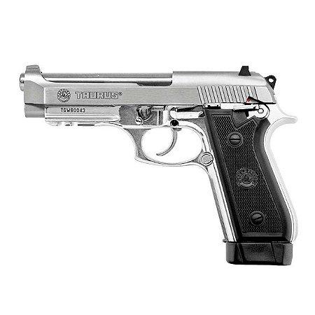 Pistola Taurus PT59 Inox .380