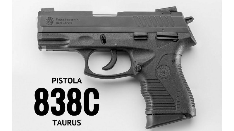 Pistola Taurus PT838 C.380