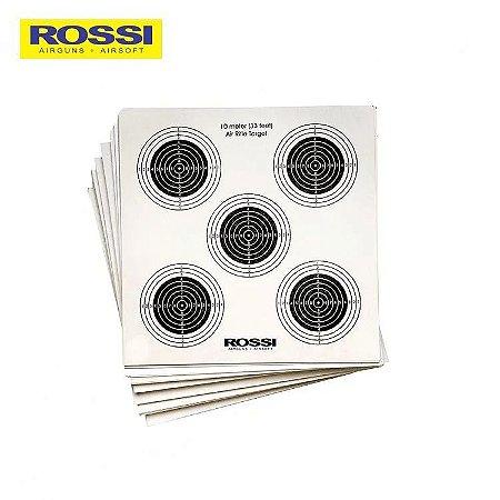 ALVO PAPEL ROSSI (5 EM 1) 14X14CM (50 UND.)