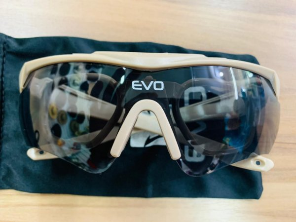 Kit Óculos de Proteção Tático Nighthawk Tan - EVO Tactical