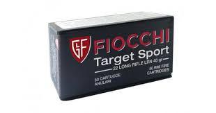 MUNICAO FIOCCHI CAL .22 LR TARGET SPORT