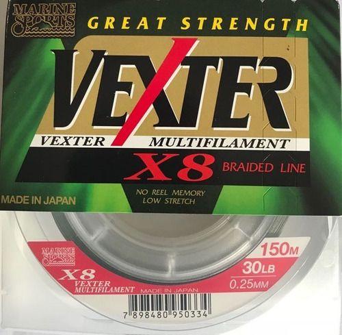 LINHA VEXTER X8 30 lbs 0,25mm MUTIF 150m -