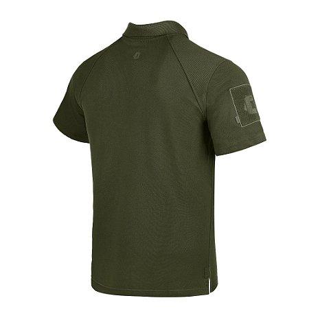 Camisa Polo Invictus Control Verde Oliva M