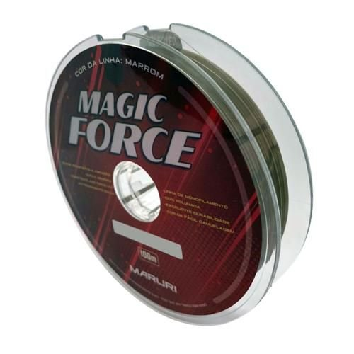 LINHA MARURI MONOFILAMENTO MAGIC FORCE - 0,21mm