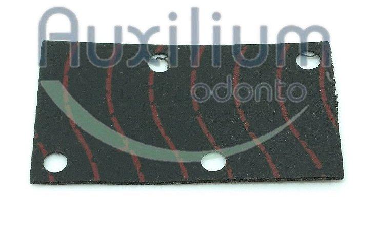 DIAFRAGMA DA VÁLVULA UNIDADE 4 FUROS DABI 21016-014
