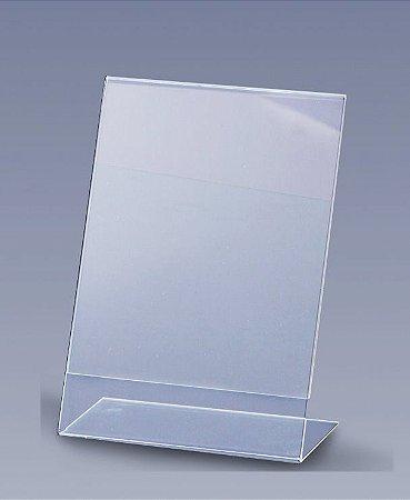 Display em acrílico A4 2,5 mm de espessura