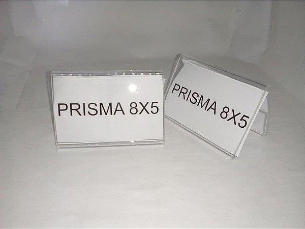 Prisma em acrílico 8x5 com 10 unidades