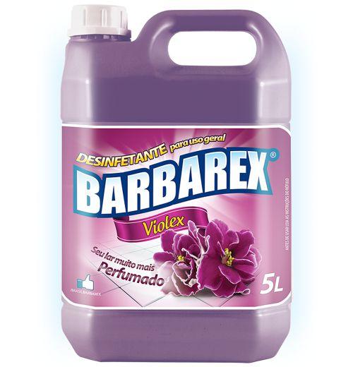 Desinfetante Barbarex Violex 5 Litros
