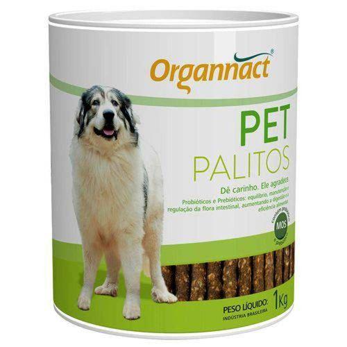 Suplemento Organnact Palitos Probiotico Lata 1kg