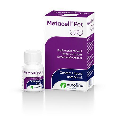 Metacell Pet Suplemento 50ml Ourofino