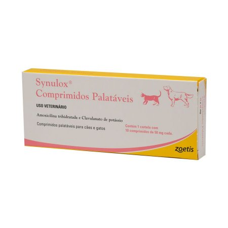 Synulox 50mg 10 Comprimidos Zoetis