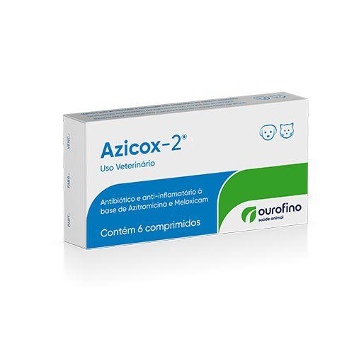 Azicox-2 Antibiotico com 6 Comprimidos