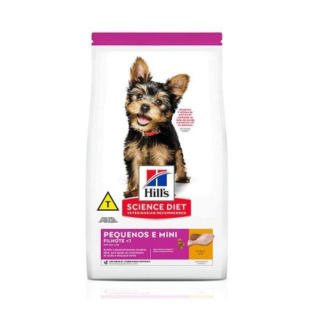 Ração Hill's Science Diet para Cães Filhotes - Raças Pequenas e Miniatura