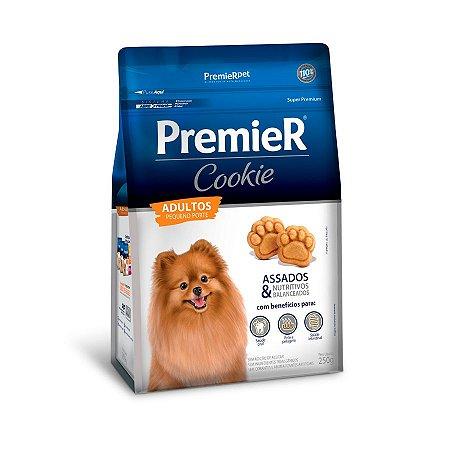 Biscoito Premier Cookie para Cães Adulto Raças Pequenas 250g