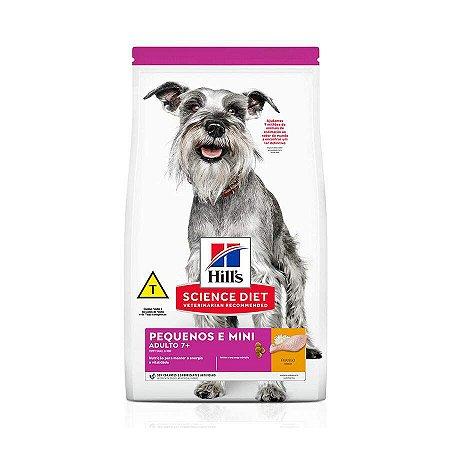 Ração Hill's Science Diet para Cães Adultos 7+ Raças Pequenas e Miniatura