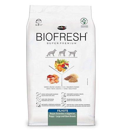Ração Biofresh para Cães Filhotes Raças Grandes Hercosul