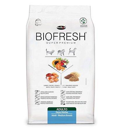 Ração Biofresh para Cães Adultos Raças Medias Hercosul