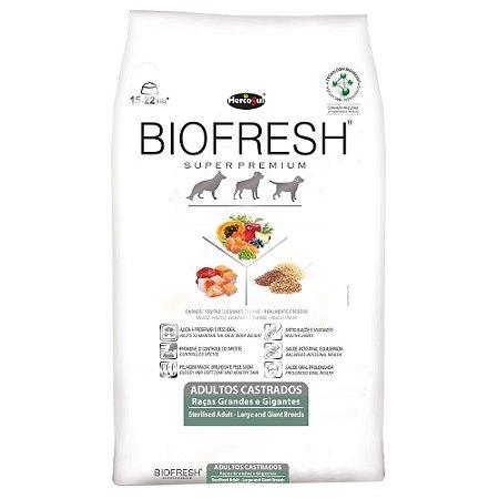 Ração Biofresh para Cães Adultos Castrados Raças Grandes 15kg