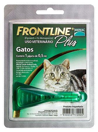 Frontline Plus Gato 0.5ml Boehringer Ingelheim