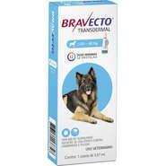 Bravecto Antipulgas e Carrapatos para Cães de 20 a 40kg 1000mg 1 Pipeta 3,57mL Msd