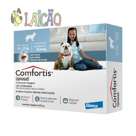 Comfortis 810mg 18-27kg Elanco