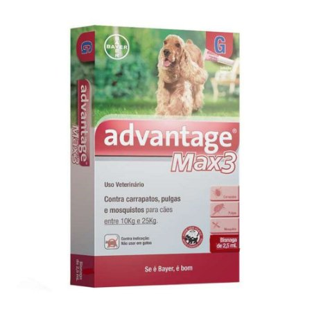 Advantage Max3 2,5ml 10-25kg Bayer