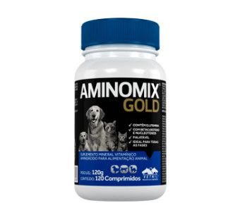 Aminomix Gold Suplemento Vitaminico 120 Comprimidos Vetnil