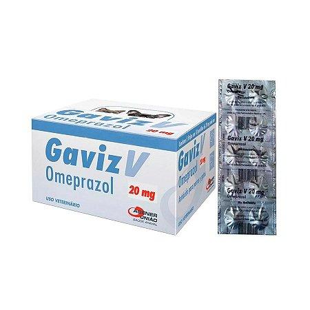 Gaviz V. Omeprazol 20mg Cartela 10 Comprimidos Agener