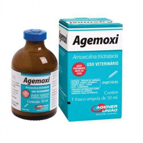 Agemoxi Cl  Antibiotico Injetavel 50ml Agener