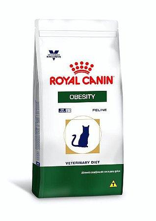 Ração Royal Canin Veterinary Diet para Gatos Obesos Obesity Feline 1,5kg