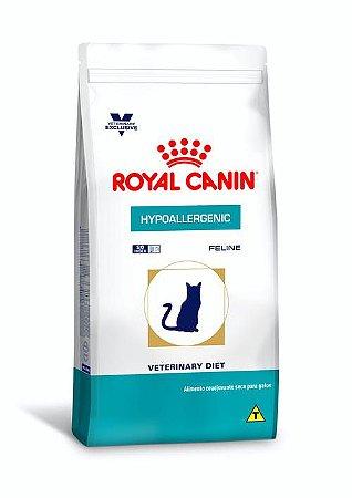 Ração Royal Canin Veterinary Diet para Gatos Alérgicos Hypoallergenic Feline 1,5kg