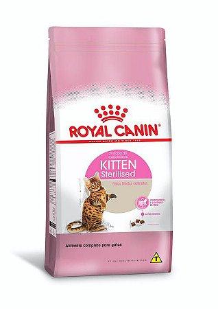 Ração Royal Canin para Gatos Filhotes Castrados Kitten Sterilised 2º Etapa do Crescimento