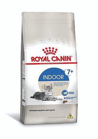 Ração Royal Canin para Gatos Adultos Indoor 7+ Ambientes Internos
