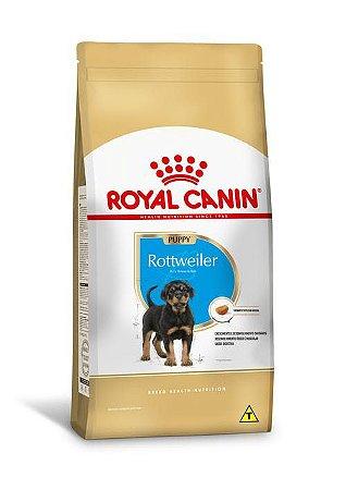 Ração Royal Canin Raças Específicas para Cães Filhotes Rottweiler Puppy 12kg