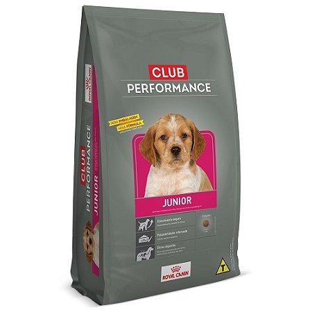 Ração Royal Canin Club Performance Para Cães Filhotes Junior