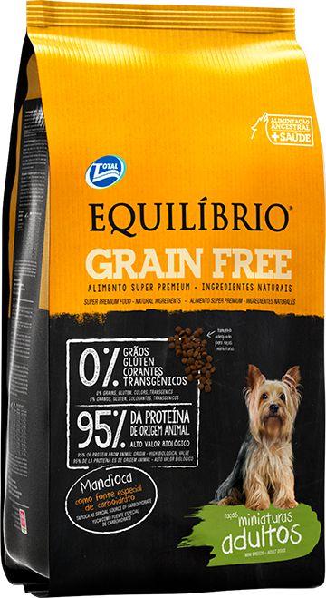 Equilibrio Cão Adulto Grain Free Raças Miniaturas