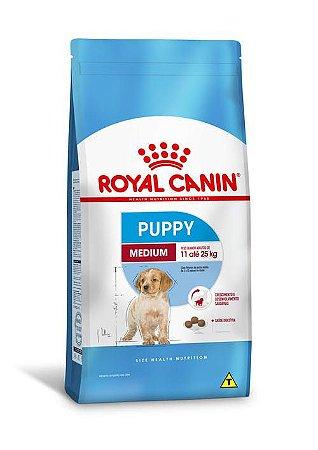Ração Royal Canin para Cães Filhotes Raças Médias Medium Puppy