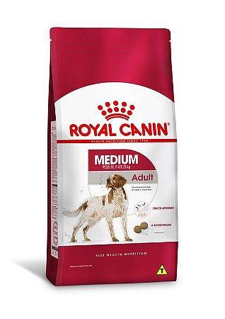 Ração Royal Canin para Cães Adultos Raças Médias Medium Adult