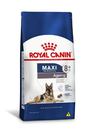 Ração Royal Canin para Cães Adultos Raças Grandes Maxi Ageing +8 15kg
