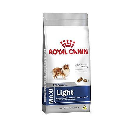Ração Royal Canin para Cães Adultos Raças Grandes Maxi Light 15kg
