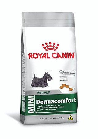 Ração Royal Canin para Cães Adultos Raças Pequenas Mini Dermacomfort