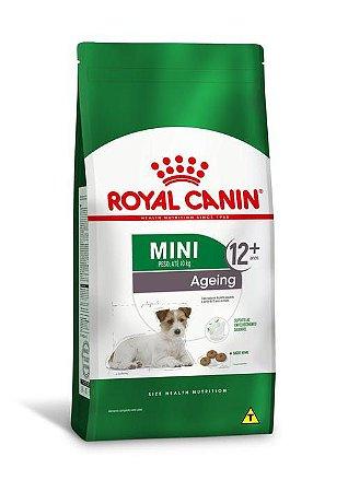 Ração Royal Canin para Cães Adultos Raças Pequenas Mini Ageing 12+