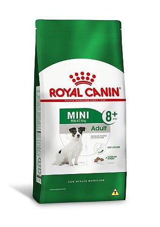 Ração Royal Canin para Cães Adultos Raças Pequenas Mini Adult +8