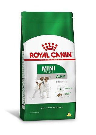 Ração Royal Canin para Cães Adultos Raças Pequenas Mini Adult