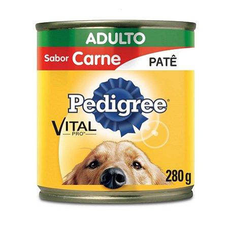 Pedigree Lata Câes Adultos Carne Patê 280g