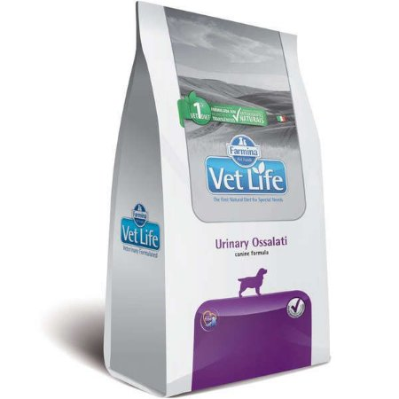 Ração Vet Life Natural para Cães Urinary Ossalati